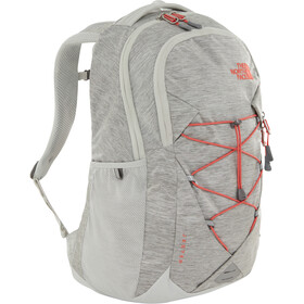 The North Face Jester Backpack Women tin grey dark heather/spiced coral